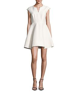 Halston Heritage | Sleeveless A-Line Dress