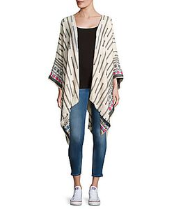 Steve Madden | Avalon Solid Woven Poncho