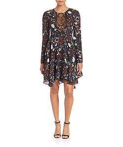 A.L.C.   Cynthia Fit Flare Silk Dress