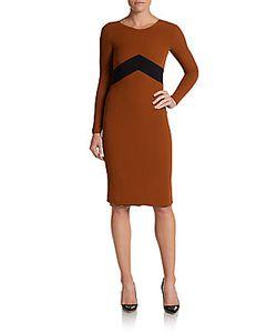 Burberry Prorsum | Chevron Sheath Dress
