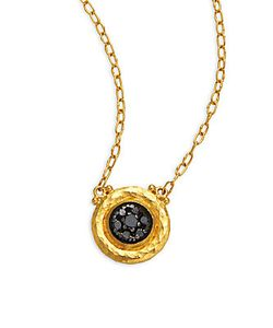 Gurhan | Celestial Diamond 24k Pendant Necklace