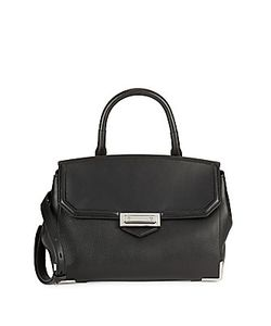 Alexander Wang | Top Handle Leather Satchel