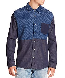 Prps | Two-Tone Quilted Shirt