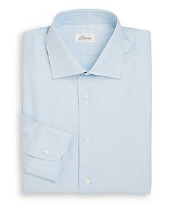 Brioni | Regular-Fit Shadow Striped Dress Shirt