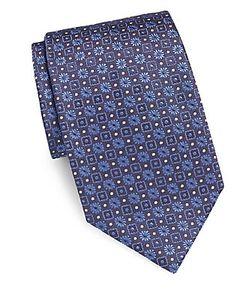 Brioni | Textured Silk Tie