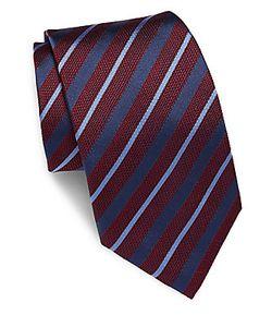 Brioni | Striped Silk Tie