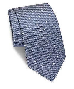 Brioni | Dotted Silk Tie