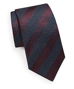 Saks Fifth Avenue | Striped Silk Tie
