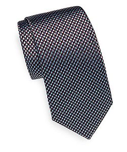 Canali | Patterned Silk Tie