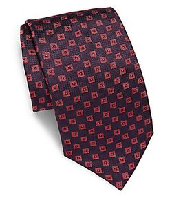 Brioni | Woven Patterned Silk Tie
