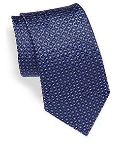 Canali   Woven Silk Tie