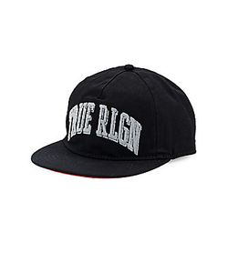 True Religion | Collegiate Arched Logo Baseball Cap