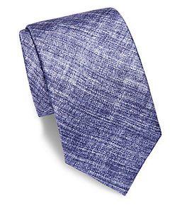Saks Fifth Avenue | Textured Silk Tie