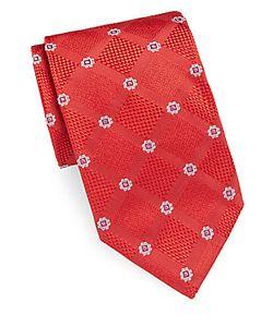 Brioni | Embroidered Silk Tie