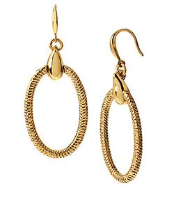 Diane von Furstenberg | Love Is Life Gemma Oval Drop Earrings