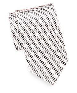 Brioni | Diamond Patterned Silk Tie