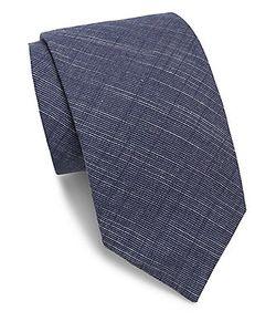 Saks Fifth Avenue   Textured Cotton Tie
