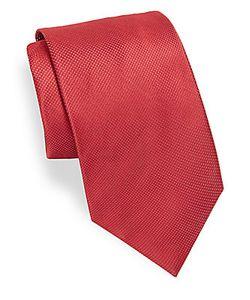 Brioni   Microdot Silk Tie