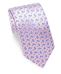 Saks Fifth Avenue | Paisley Patterned Silk Tie