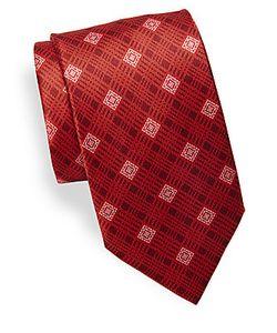 Brioni | Printed Silken Tie