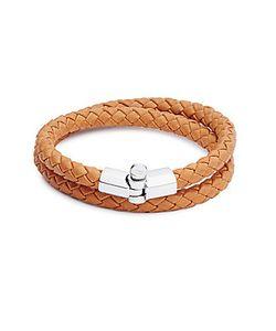 Miansai | Rovos Braided Leather Sterling Bracelet