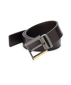 Versace Collection | Buckled Leather Belt