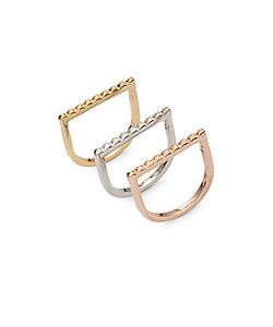 Jules Smith | Pyramid Stackable Rings
