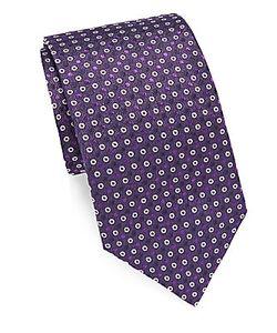 John Varvatos | Solid Italian Silk Tie