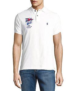 Polo Ralph Lauren   Logo Embroidered Cotton Polo