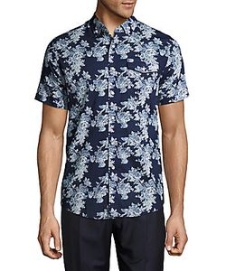 Report Collection | -Print Cotton Shirt