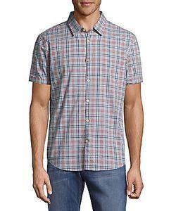 John Varvatos | Casual Button-Down Cotton Plaid Shirt