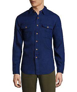 Ralph Lauren Purple Label | Linen Utility Shirt