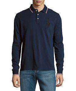 Polo Ralph Lauren   Cotton Long-Sleeve Polo