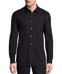 John Varvatos | Cotton Slim Fit Sport Shirt