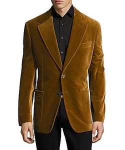 Brunello Cucinelli   Notch Lapel Cotton Jacket