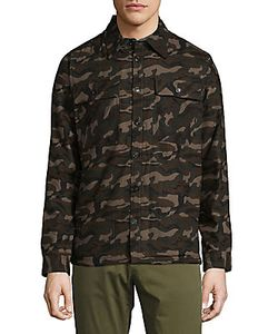 Saks Fifth Avenue | Camouflage Cotton Button-Down Shirt