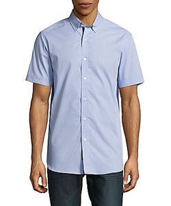 Report Collection | Textured Cotton Shirt