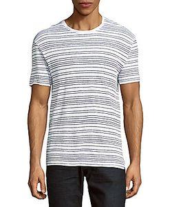 Sandro | Striped Linen Tee