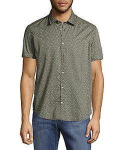 John Varvatos | -Print Casual Button-Down Cotton Shirt