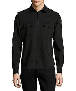 The Kooples | Cotton-Blend Casual Shirt