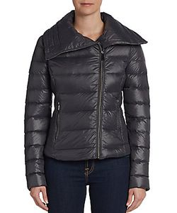 Saks Fifth Avenue BLUE | Aviator Puffer Jacket