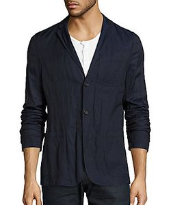 Michael Kors | Long-Sleeve Button-Down Jacket
