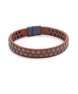 Tateossian | Leather Grommet Bracelet
