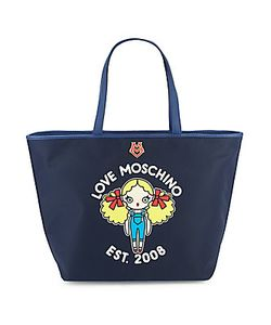 Love Moschino | Top-Handle Leather Tote