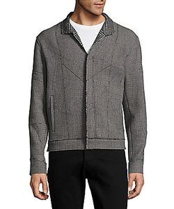 Lanvin   Wool Gingham Jacket