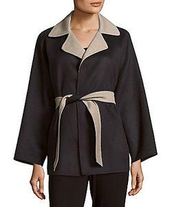 Max Mara | Kaya Wool-Blend Notch-Collar Coat