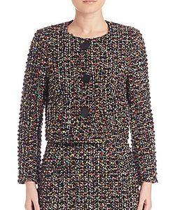 Escada | Wool-Blend Tweed Jacket