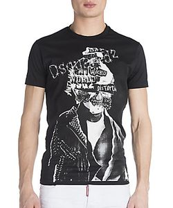 Viktor & Rolf | Skull Biker Punk T-Shirt