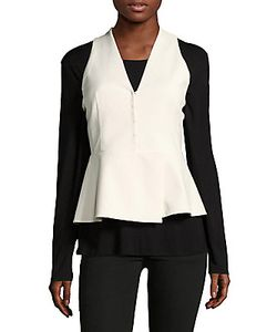 Akris | Sevita Sleeveless Button-Front Jacket