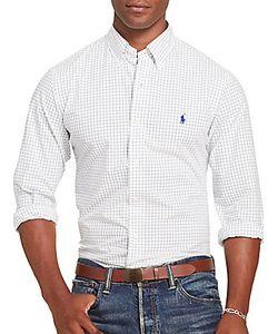 Ralph Lauren Purple Label | Tattersall Poplin Shirt